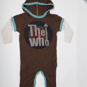 The Who Long Sleeve Baby Onesie